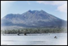 Lake Batur, Kintamani, Bali (scinta1) Tags: bali mountain lake water fishing fisherman kayak canoe kampung vignette lakebatur danaubatur fishfarm kintamani gunungbatur mountbatur 2013 kedisan