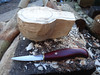 Start of a new Birch kuksa. (fishfish_01) Tags: wood greenwood carving carve woodcarving kasa bushcraft kuksa sloyd kupilka