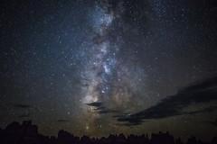 Milky Way and the Needles (Summit42) Tags: summer night canon dark utah canyonlands 5d theneedles 1635 mkiii elephantcanyon