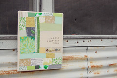 monochromatic project [color intensive] (annabellegardner) Tags: buttons monochromatic greens stitching wallhanging improvpatchwork