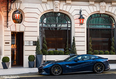 Stunning color on this F12! (Arthur.H Photography) Tags: paris ferrari f12