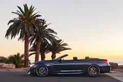 BMW M6 Convertible (j.hietter) Tags: california blue sunset side wheels convertible klassen bmw m6 darkblue stance palosverdes
