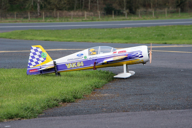 Phil's Carden Yak 54 ready to go