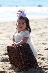Jordyn In White (MaliceMaria) Tags: baby sun cute beach cake fun photoshoot mermaid
