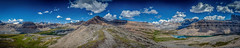 Cirque Peak (walterrp76) Tags: canada mountains reflection hiking bluewater alberta banff banffnationalpark canadianrockies banffnp icefieldparkway helenlake cirquepeak dolomitepeak