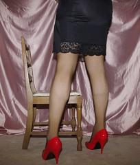 IMGP7757 (gingers.secret) Tags: sexy stockings highheels lingerie half slip garterbelt halfslip