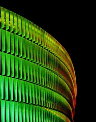 N.O.I.S.Y. (ИicoW) Tags: photooftheday picooftheday colours light night nightlights green red orange yellow stadium abstract abstractart illusion architecture archidaily colorful building design colorsplash noise noisypic bilbao spain espana mood pixels colour color colors colourful