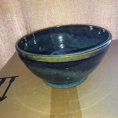 2017-03-20 11.16.58 (Beerdedbiker) Tags: clay stoneware pottery potterywheel bowl claybowl