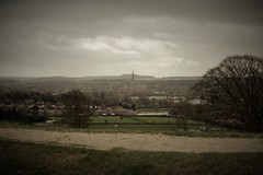 Murky day (Matt From London) Tags: oldsarum salisbury spire grey murky