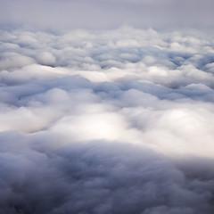 Cloudscape #1 (Explored...) (Joe Hayhurst) Tags: amsterdam plane cloud clouds weather sky cloudscape