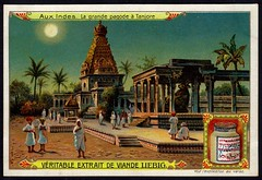 Liebig Tradecard S853 - The Great Pagoda, Tanjore (cigcardpix) Tags: tradecards advertising ephemera vintage chromo liebig india