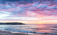 Bondi Beach at Sunrise | Sydney | Australia (fiston22) Tags: bondi bondibeach australia sydney sunrise red magenta colors