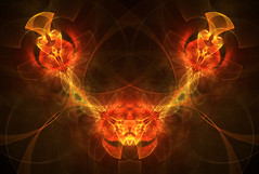Light My Fire (Luc H.) Tags: light fire abstract fractal graphic graphism digital