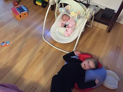"Paul Rocks Dani in Her Swing • <a style=""font-size:0.8em;"" href=""http://www.flickr.com/photos/109120354@N07/32957494162/"" target=""_blank"">View on Flickr</a>"