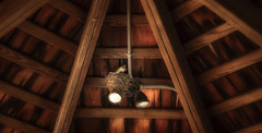 The Nest (Marcelino Bobe jr) Tags: nest bird wood gazebo lighting sureal nature shadows colors outside
