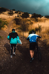 Let's adventure (javier fuentes photography) Tags: nikon nikond7000 lifeofadventure adventure bike mountain hill santiago chile youngphotograhper cinematic colour colorama