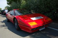 Ferrari 512 BB (D's Carspotting) Tags: ferrari 512 bb france coquelles calais red 20100613 fsx43s le mans 2010 lm10 lm2010