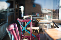take a seat.. (paul.wienerroither) Tags: window seat travel fuerteventura canaryislands photography canon 50mm 5dmk3 takeaseat colors reflection relax caffee