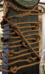 Knotty, nautical (Will S.) Tags: mypics crowsnest thecrowsnest stjohns newfoundlandandlabrador canada wwii navy naval rope knots