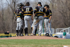 Baseball vs. Oswego - 04/15/2017 (BrockportAthletics) Tags: baseball ncaabaseball collegeatbrockport collegebaseball goldeneagles sunybrockport brockportathletics brockportbaseball ncaa ncaadivisioniii ncaad3