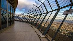 Burj-e Milad's Open-air Observation Deck, Tehran, 20170408 (G · RTM) Tags: burjemilad milad tower tehran open observation deck