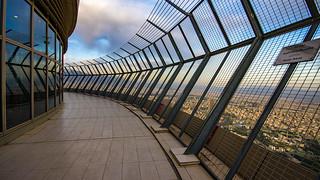 Burj-e Milad's Open-air Observation Deck, Tehran, 20170408
