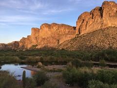 Tonto National Forest, Arizona (jamestapparo) Tags: tonto national forest mesa arizona stream river natural nature wildlife phoenix sunset