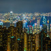 City of Hong Kong from Victoria Peak
