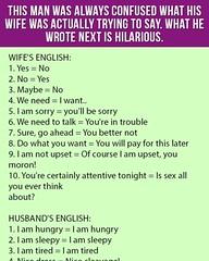 The confused man (jokesoftheday) Tags: confused funny hilarious joke kickassjokes man rarejokes wife wrote