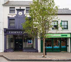 Tierney Shoes (formerly). Bridge Street, Westport (Steph Breton) Tags: westport irlande ireland mayo buildings westofireland connaught