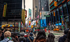 Walking with the people of the city. (The city guy ☺) Tags: canalstreet newyork city people walking walkingaround walkinginthecity colors cityscapes streetphotography urban urbanexploration unitedstates outdoors