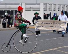(lcross4) Tags: asbury park st patricks parade 2017 bikes historical society