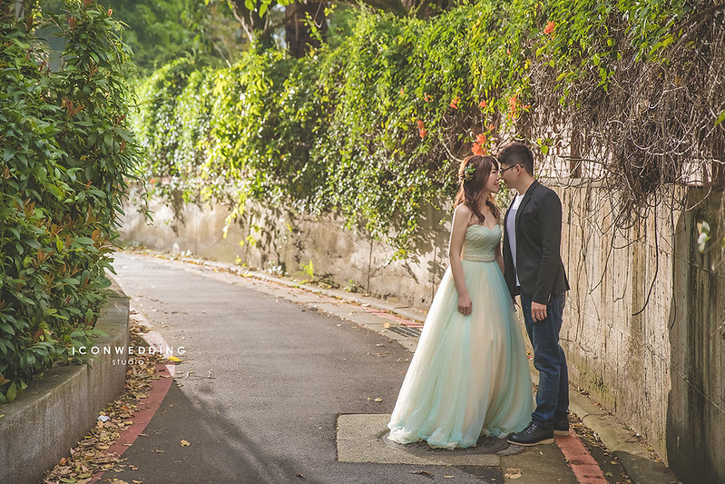 淡水小白宮,新生公園,滬尾砲台,拍婚紗,婚紗照