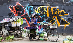 Hanoi graffiti 🎨 (Greg Rohan) Tags: bike foodstall graffiti vietnam graff art hanoi photography 2017 d7200 urban