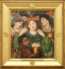 Dante Gabriel Rossetti - The Beloved 1865-6