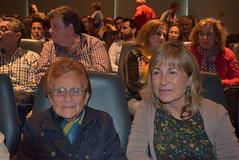 María Alcaraz y Maravillas Tudela, hija y nieta de la víctima del franquismo Francisco Alcaraz. (almeriainformacion) Tags: cine documental la fosa borrada del sur memoria histórica almería museo de