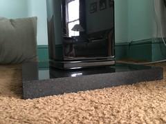 Granite Plinth 1 (busb) Tags: busb wokingham berks england uk hifi stereo speaker loudspeaker qaudral carpet plinth stand granite blackgranite zimbabweanblackgranite