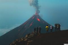 """""""All I hear is """"Burn!"""""""" - Volcano Fuego from Volcano Acatenango - Guatemala (TLMELO) Tags: vulcão volcano mount montanha fire lava morning manhã eruption erupção fumaça smoke"""