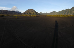 Sang Petualang (Paco Paulus Pater) Tags: human shadow adventure beautiful live nature mountain bromo eastjava indonesia traveling