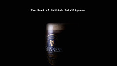 The Head of British Intelligence (Bernie Condon) Tags: guinness stout irish pisstake heaven nectar studio lighting screensaver