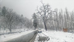 White-out at Pahalgam-3 (Shuddho1980) Tags: pahalgam kashmir snow lgg4