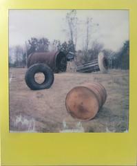 Abandoned Installation (o_stap) Tags: film600 polaroid600 polaroid filmisnotdead impossibleproject believeinfilm instant analog roidweek polaroidweek