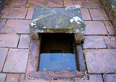 Mompesson's Well (rustyruth1959) Tags: nikon nikond3200 tamron16300mm uk derbyshire eyam eyamplaguevillage plaguevillage village plague well stream mompessonswell mompesson water stones flagstones trough outdoor coins payment purifying infection food dropoff quarantine villagers