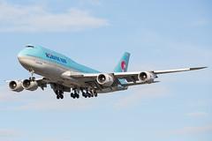 HL7630 (Daniel Hobbs   Spot2Log) Tags: airplane aircraft heathrow heathrowairport egll lhr koreanair korean boeing 747 747800
