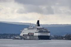 DFDS Pearl Seaways (Pegpilot) Tags: dfds pearl seaways oslo