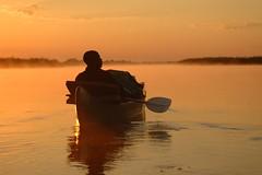 Serenity (c-u-b) Tags: africa afrika africanman zambia zimbabwe sambia simbabwe zambezi sambesi canoe kanu safari travelphotography travel reisefotografie reise sunrise sonnenaufgang beautifullight calm stille kanusafari canoesafari river flus silhouette silhouettes