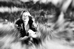 Florence (boomer_phil) Tags: bw femme monochrome portrait noiretblanc wife extérieur outdoor flickrelite ombres lumières jolie fille beautifulexpression
