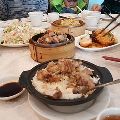 Good Friday family dim sum.