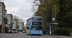 Out in the sticks: Dennis Trident/Alexander ALX400, 4212 (paulburr73) Tags: 4212 dennis trident alexander alx400 jardinecrescent coventry tilehill busstop busshelter nxc nationalexpress tilehillnorth shoppingcentre april easter 2017 westmidlands midlands service6 tanyardfarm y819toh