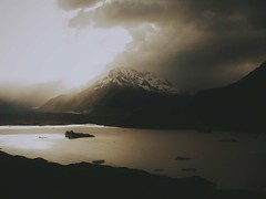 Moody Skies (vickismith27) Tags: mountcook clouds stormy